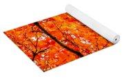 Glorious Autumn Leaves Yoga Mat