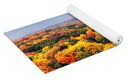 Autumn Over The Rolling Hills Yoga Mat