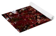 Autumn Snowball Bush Yoga Mat