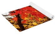 Autumn Sunrise Painterly Yoga Mat