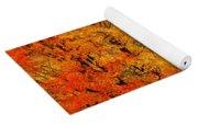Autumn Trees By Barn Yoga Mat