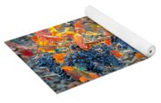 Autumn Vineyard Sunlight Yoga Mat