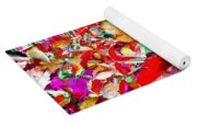 Autumn Virginia Creeper Yoga Mat