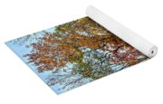Autumnal Foliage Yoga Mat