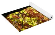 Autumn's Golds Yoga Mat