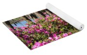 Azalea At The Lake Yoga Mat