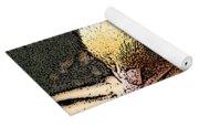 Baby Quail In Pastel Yoga Mat