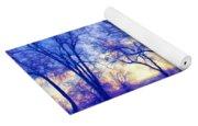 Bare Trees Yoga Mat