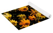 Beautiful African Daisies Yoga Mat