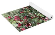Beautiful Camellia Bush Yoga Mat