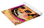 Beauty And Flowers 1 Yoga Mat