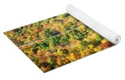 Beauty And The Grid Yoga Mat