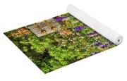 Becker Vineyards' Flower Garden Yoga Mat