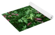 Bed Of Bleeding Hearts Yoga Mat