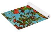 Berry Christmas Yoga Mat
