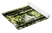 Birch Forest Fractal Yoga Mat
