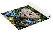 Birdhouses In The Trees Yoga Mat