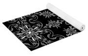Black And White Medallion 11 Yoga Mat