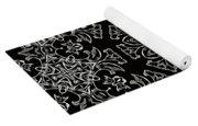Black And White Medallion 7 Yoga Mat