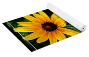 Blackeyed Susan With Bible Quote From 1 Peter Yoga Mat