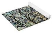 Blooming Cherry Tree Avenue Yoga Mat