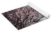Blooming Peach Orchard Yoga Mat