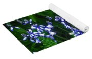 Blue Bells Yoga Mat