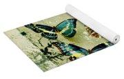Blue Butterfly - S55c01 Yoga Mat