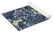 Blue Daisies Design Yoga Mat