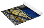 Blue Fire Escape Yoga Mat