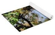 Blue Heron In The Trees Oil Yoga Mat