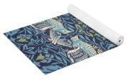 Blue Tapestry Yoga Mat