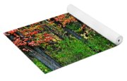 Blustery October Weather Yoga Mat