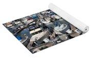 Boats At The San Francisco Pier 39 Docks 5d26009 Yoga Mat