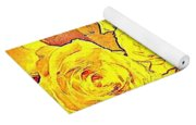 Bowl Of Fireroses Yoga Mat