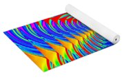 Boxed Rainbow Swirls 2 Yoga Mat