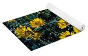 Brillant Flowers Full Of Sunshine. Yoga Mat