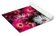 Brilliant Flowers Yoga Mat
