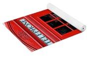 British Phone Box Yoga Mat