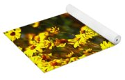 Brittle Bush In Bloom  Yoga Mat