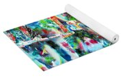Bruce Springsteen And The E Street Band - Watercolor Portrait Yoga Mat