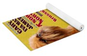 Brussels Griffon Art - North By Northwest Movie Poster Yoga Mat