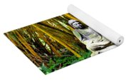 Buddha In The Bamboo Forest Yoga Mat