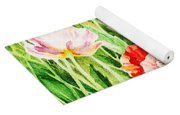 Bunch Of Poppies II Yoga Mat