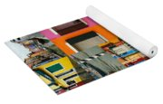 Burano Italy Collage Yoga Mat