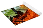 Burning Brush Yoga Mat