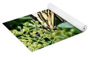 Butterfly And Sweet Williams Yoga Mat