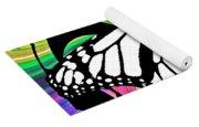 Butterfly Abstract Wall Art Decor Yoga Mat
