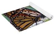 Butterfly Garden - Monarchs 17 Yoga Mat
