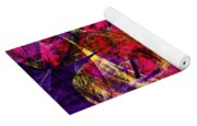 Butterfly In Abstract Dsc2977 Square Yoga Mat